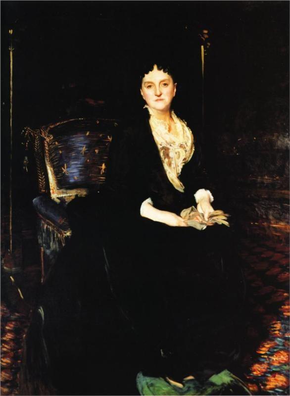 Mrs. William Henry Vanderbilt, 1888  John Singer Sargent