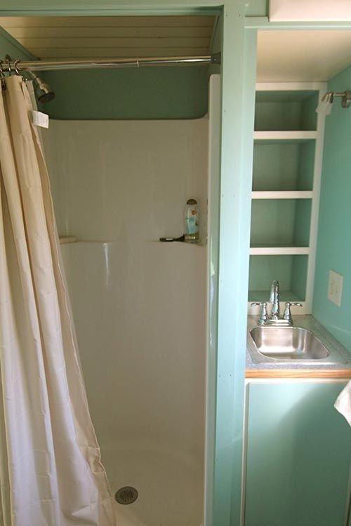 Best Tiny House Bathrooms Images On Pinterest Tiny House
