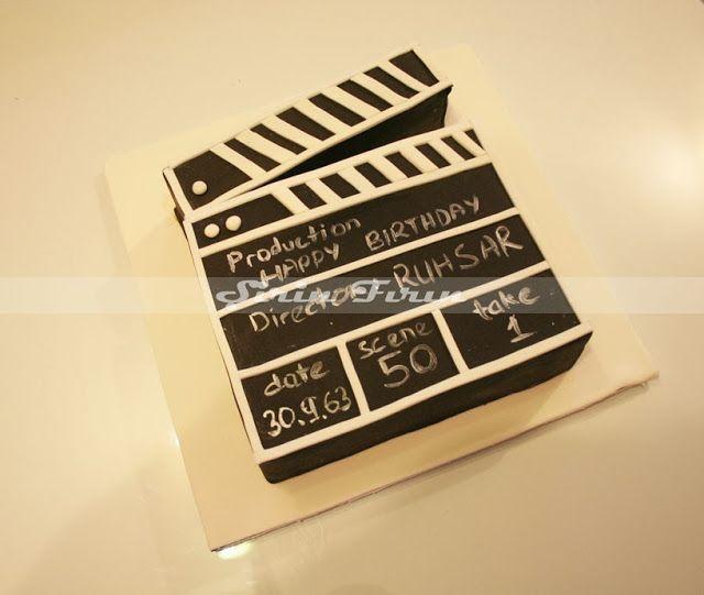 clapperboard cake, klaket pasta