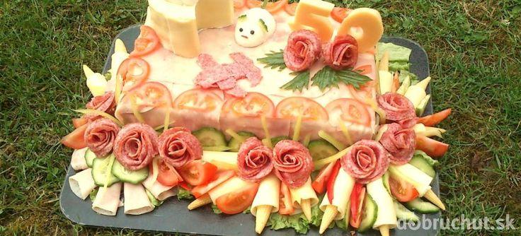 Slávnostná slaná torta