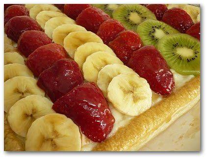 Cocinerando | Recetas de Cocina con Fotos: Tarta Hojaldre de Frutas