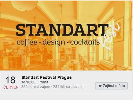 Téma Standart festivalu je složené ze tří hlavních častí - výběrová káva, nadčasový design a kvalitní cocktaily. Ochutnáte s námi espresso bary, brew bary, gin (!) bary, design lounge, prednášky, workshopy..? Uvidíme se v sobotu v Praze!