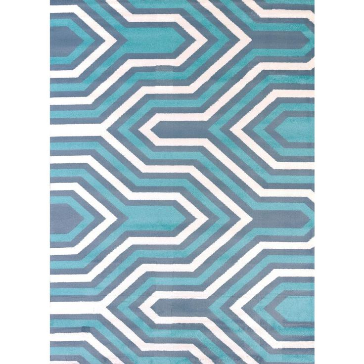 Cupola Blue 7 ft. 10 in. x 10 ft. 6 in. Indoor Area Rug