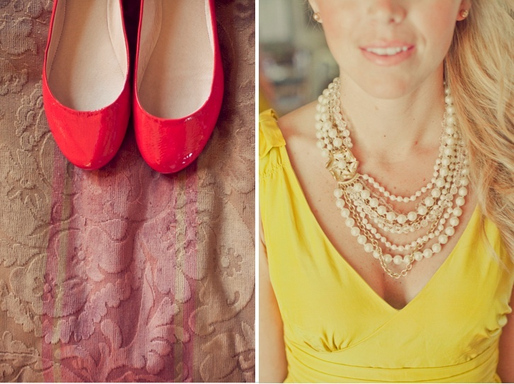 i love everything about these colors! Charming Red & Yellow Wedding by onelove photography - Project Wedding Blog