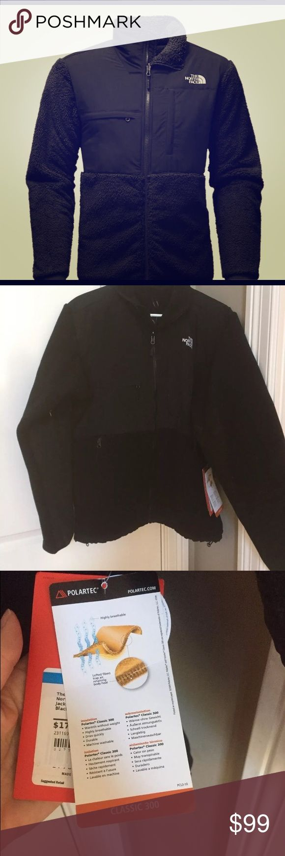 NWT north face men's Denali fleece jacket coat XL Color is black, and size is men's XL. Brand new with tags :) North Face Jackets & Coats