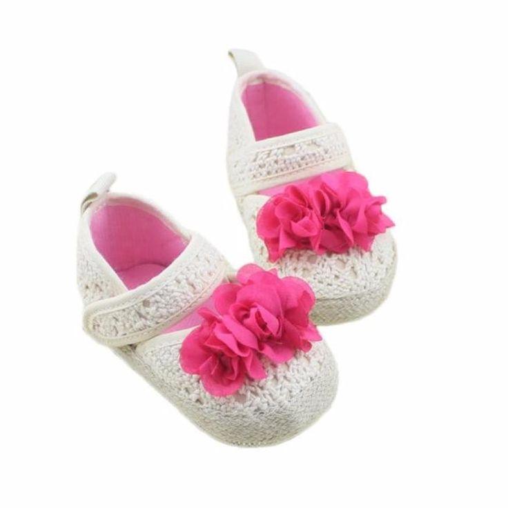 Newborn Girl Shoes Infant Toddler Girls Soft Sole Baby Crib Shoes Cute Flower Mascara Halloween Bebek Bot #Affiliate
