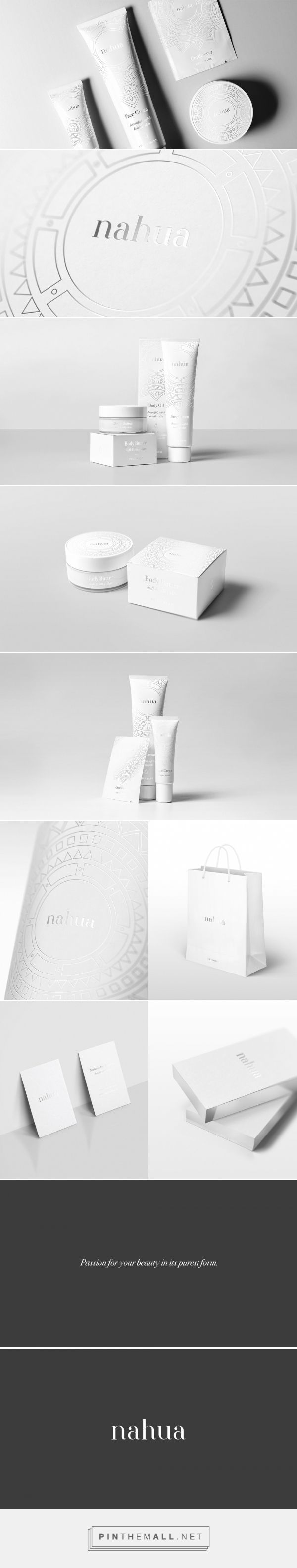 Nahua Cosmetics — The Dieline - Branding & Packaging - created via pinthemall.net