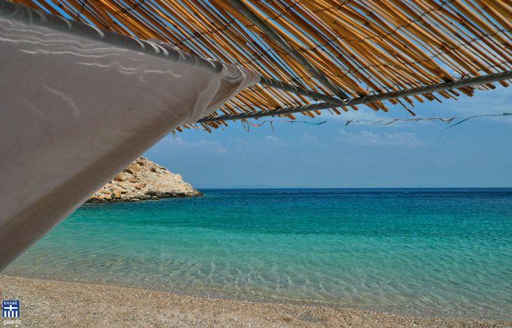 Glari brach . Chios island