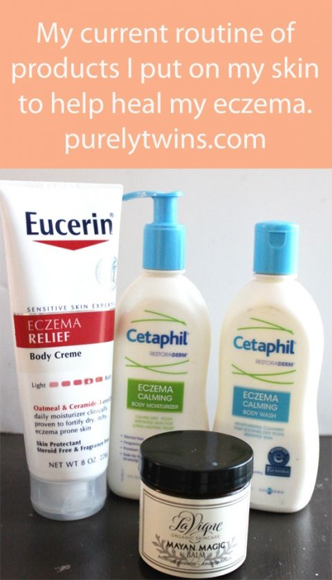 favorite lotions to put on skin to heal eczema eucerin and cetaphil and mayan magic