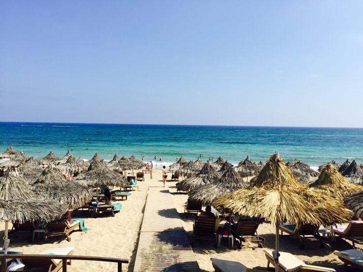 Grecian Bay Hotel Beach  http://www.grecianbay.com