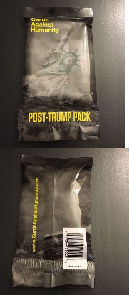 Other Card Games and Poker 2552: Cards Against Humanity Post Trump Pack Expansion (Rare) -> BUY IT NOW ONLY: $50 on eBay!