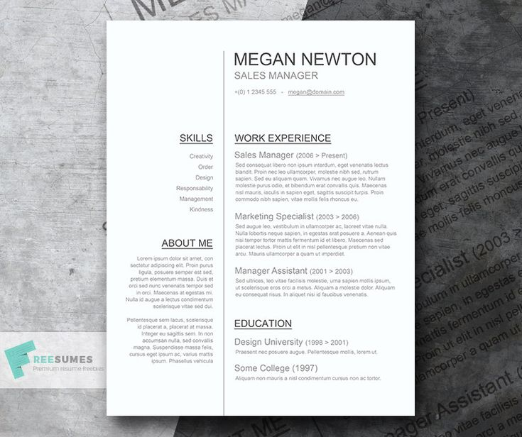 No success with your job application? This CV template features a streamlined outline with two columns that can make your profile readable and more interesting to read. The well-organized layout