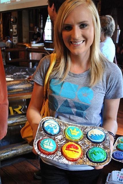 4sq Cupcakes on 4sqDay! #foursquare