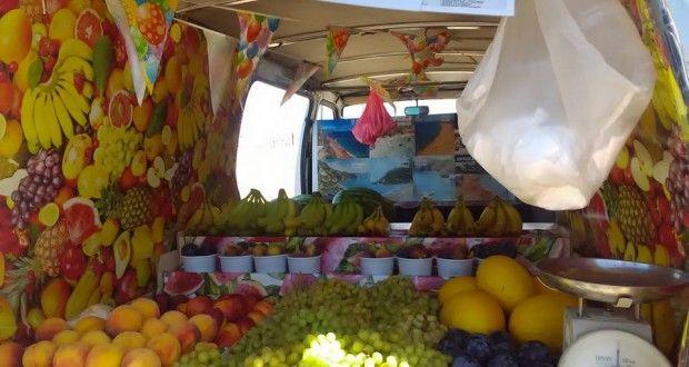 """Мобилен """"Плод-зеленчук"""" на остров Корфу   Danybon.com"""