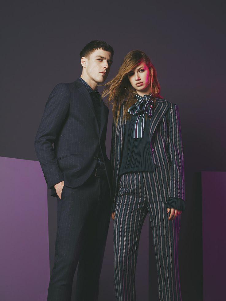 #Sisley #Sisleyfashion #FW2017 #woman #man #collection #fashion #trend #blouses #stripes #knitwear #hat #jacket #pant
