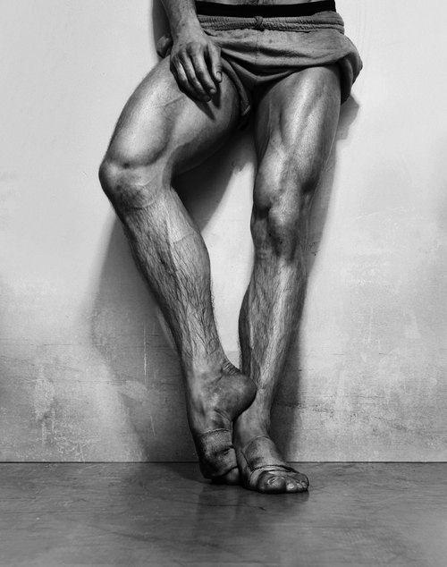 Nureyev's legs - holy crap! He must've had zero percent body fat.