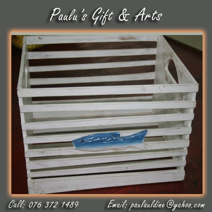We have beautiful wooden crates here in store, come and visit us. Or call us on: 076 372 1489  See more at: tinyurl.com/qg7f74n  #Gifts #Arts #Crafts