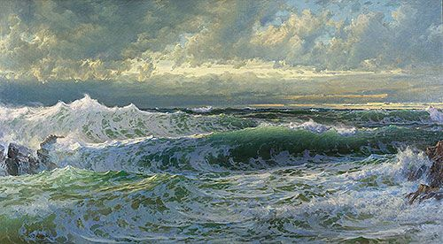 Title: After a Gale, 1903 Artist: William Trost Richards