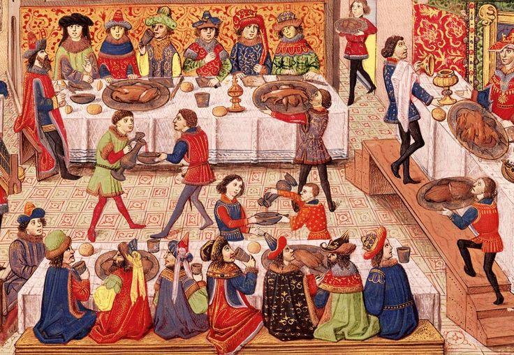 Bjerge af kød, ingen hygiejne og grove manerer. Sådan forestiller mange sig fester i middelalderen. Men i 1100-tallet blev renlighed og høflighed en dyd. Bøvsen, snyden næse og spytklatter var dog fortsat tilladt. Det skulle bare gøres med stil.