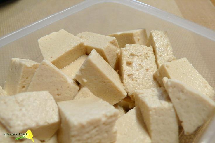 cómo hacer tofu casero a partir de las habas de soja
