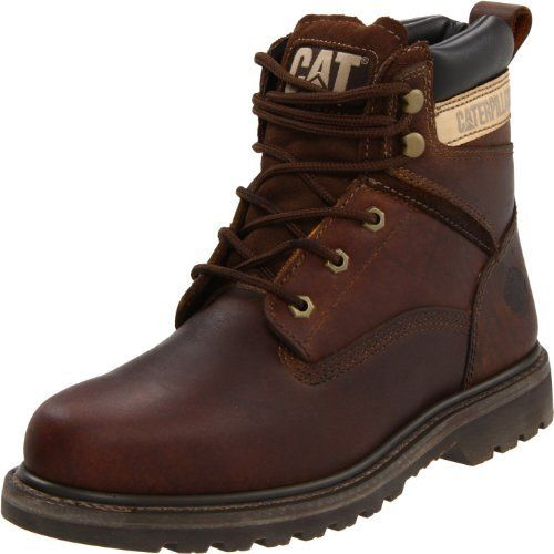 "Caterpillar Men's Rangler MR 6"" Work Boot Caterpillar. $54.99. Please refer to description below for measurement details.. leather. Rubber sole. 100% Authentic"