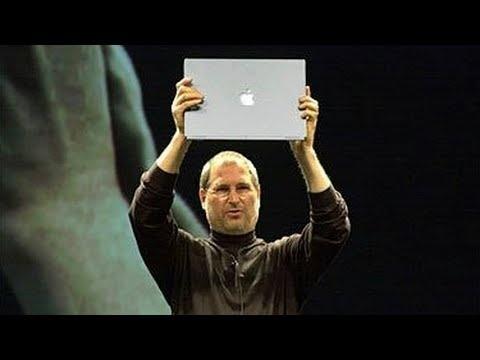 Steve Jobs introduces iTunes & PowerBook G4 Titanium - Macworld SF (2001)