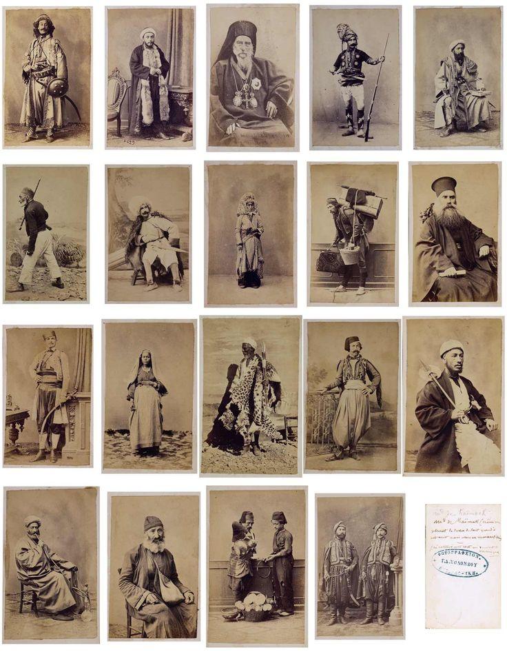 G. D. Komomboy Sheba and Pascal - Types Turkish, Caucasian ... / G. d. komomboy et pascal sébah