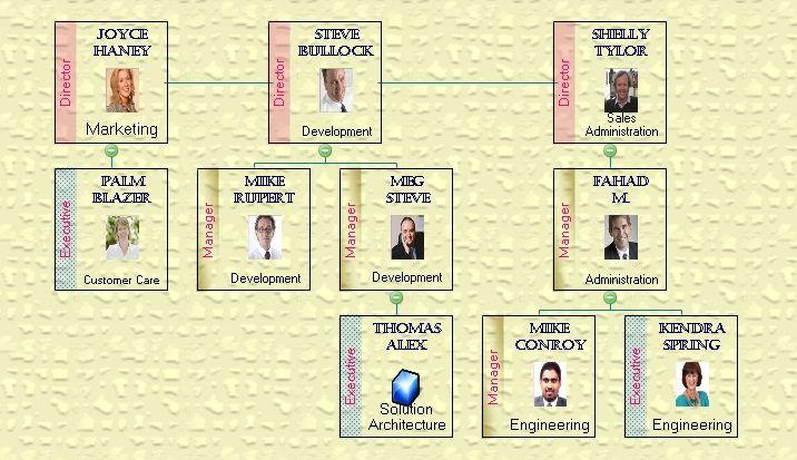 OrgDoc - Create Semi-Transparent Organization Charts.
