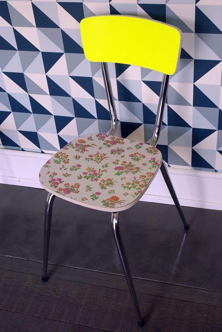 Chaise en formica via Wood