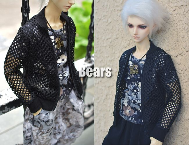 1/3 1/4 scale BJD clothes Baseball jacket coat doll accessories for EID SD.Not included doll,shoes and other accessories NO0531
