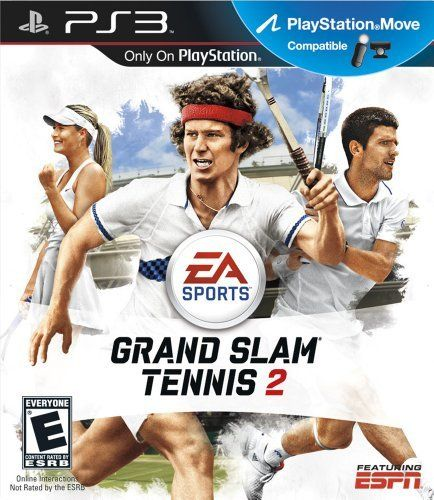 Grand Slam Tennis 2  Playstation 3 by Electronic Arts -- Check this awesome product by going to the link at the image. Note:It is Affiliate Link to Amazon.