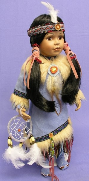 native indian dolls