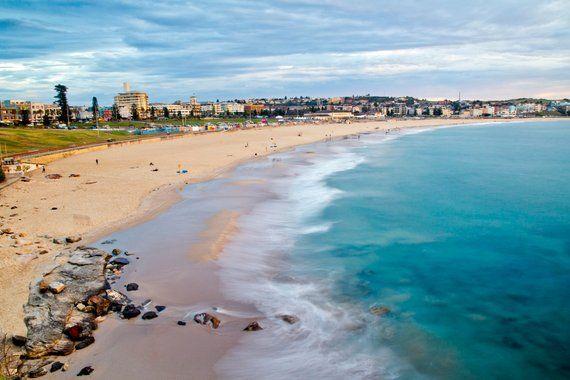 Digital Download Bondi Beach Sunrise Sydney Nsw Australia