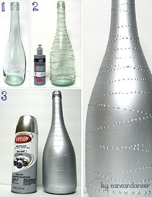 recycle champagne bottles