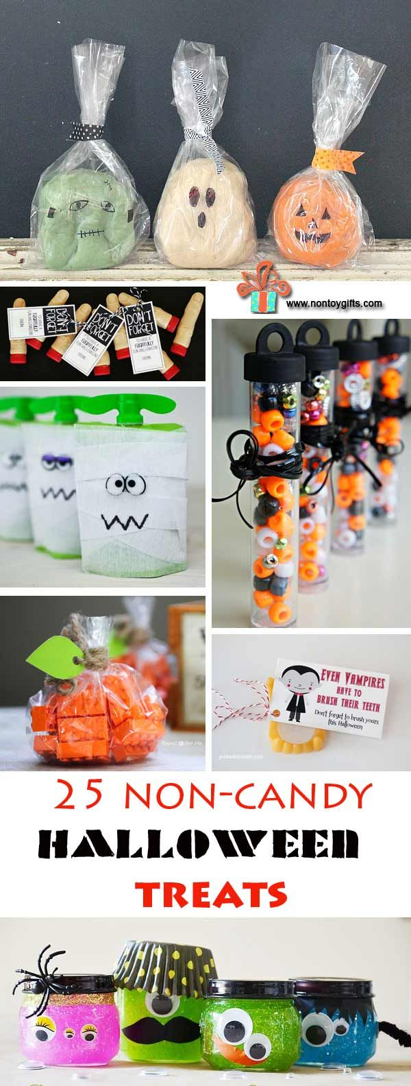 25 Non-Candy Halloween treats to make for kids - great ideas for kids with…