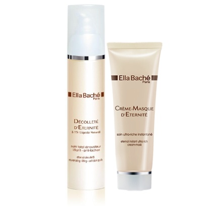 Ella Bache Eternal products! Amazing! Fantastic for a more mature skin with sun damage.