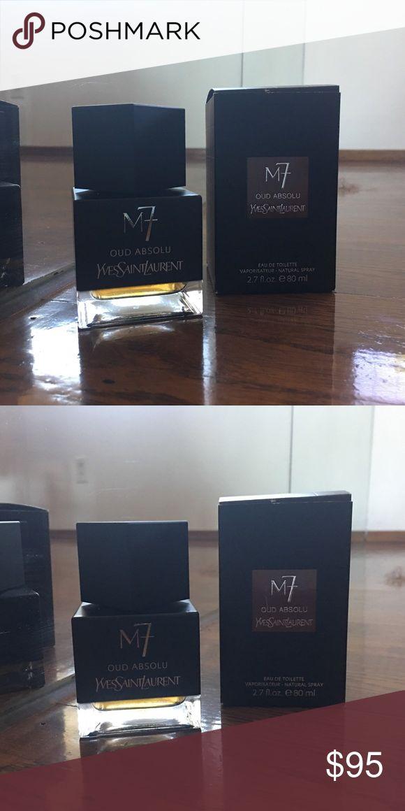 Yves Saint Laurent M7 Oud Absolu Eau de Toilette 2.7 oz, at least 90% full. Authentic. 🎀 Keywords: cologne for men, perfume, parfum, fragrance, designer, niche, oud, aoud, YSL Yves Saint Laurent Other