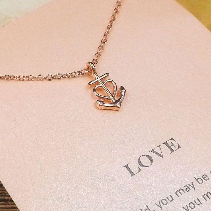 Love Anchor Necklace                                                                                                                                                                                 More