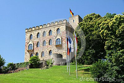 Towering above Neustadt lies Hambacher Schloß (Hambach Castle), which played a dominant role for today's German democracy.
