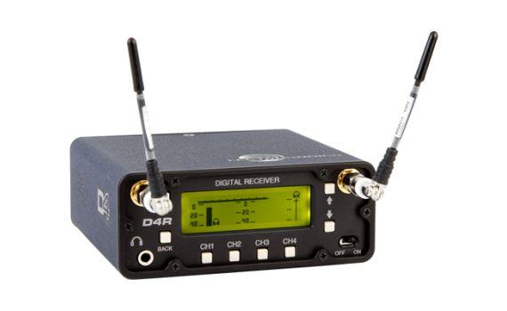 Lectrosonics D4 Series - Digital Wireless System - D4R (Digital Receiver)