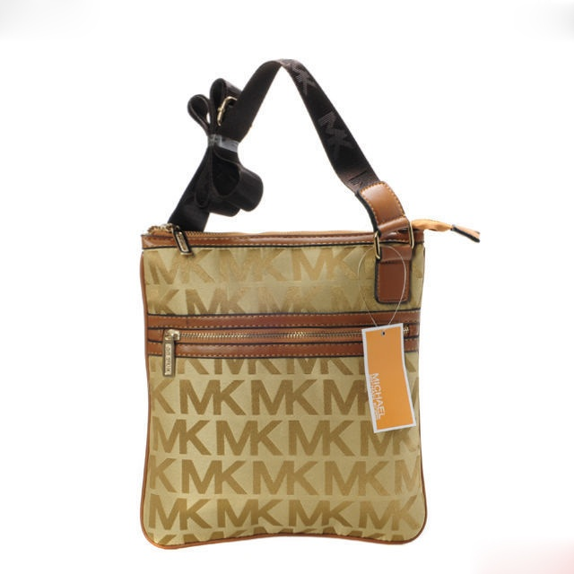Michael Kors Swingpack Crossbody Bag Buff/Brown