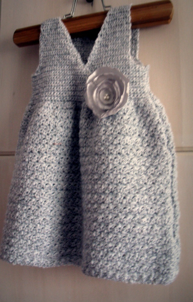 Crocheted Child's Jumper