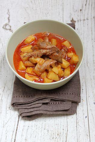 Recepty pro děti: Gulášová polévka z hlívy ústřičné