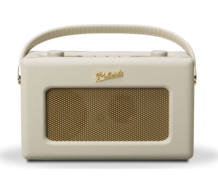 ROBERTS  Revival RD60 Portable DAB Radio - Pastel Cream, Cream Price: £ 169.99 The Roberts Revival RD60 Portable DAB Radio beautifully conjures up 1950s style but provides modern-day functionality. The RD60 combines superb cutting-edge clarity of sound with a design dating back to the Rock 'n' Roll years! Supreme listening Some of the compelling reasons to buy this handsome radio include both...
