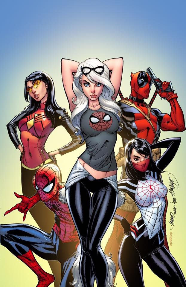 """J. Scott Campbell Fan Page :: J. Scott Campbell Gallery…"