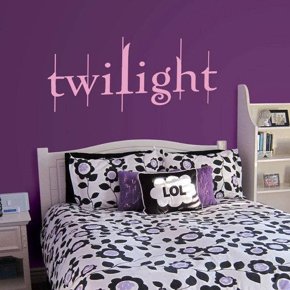 Twilight Wall Decal Art Sticker Dont Judge Me