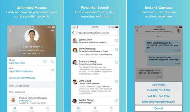 Find Info About Your Colleagues With LinkedIn Lookup App | WeRSM | We Are Social Media