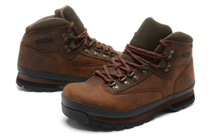 Timberland Men's Authentic Euro Hiker Leather and Fabric Brown Majority Leather with Synthetic,timberland shoes christmas gifts,New Timberland Boots 2017,timberland boots waterproof,timberland boots style,timberland boots classics,timberland euro hiker boots