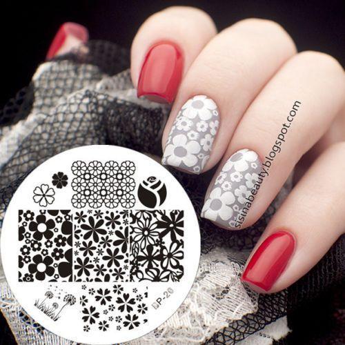 Born Pretty Para Uñas Stamping plantilla imagen placas manicura Diseño De Flores BP20 | Belleza y salud, Cuidado de uñas, Accesorios para decorar uñas | eBay!