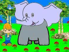 ▶ Canción Infantil El elefante del circo. - YouTube